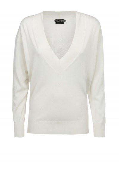 Tom Ford Sweater In White
