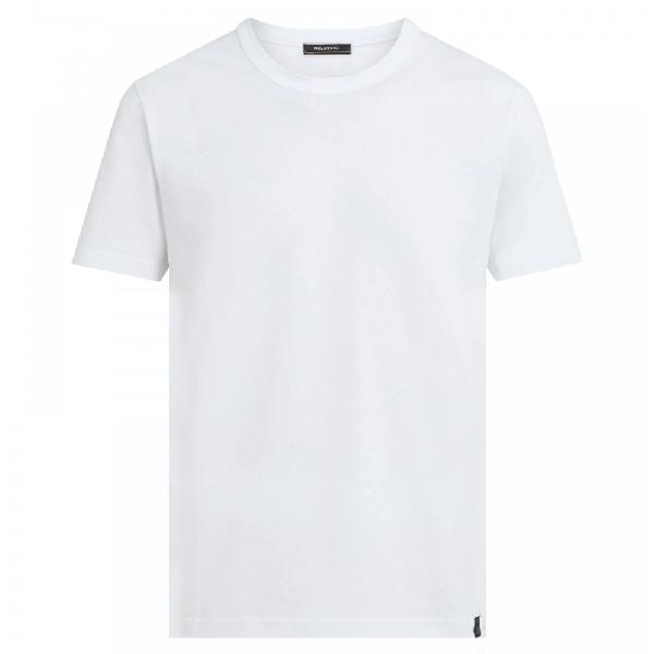 Belstaff Logo-print Cotton-jersey T-shirt In White