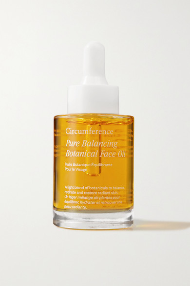 Circumference Pure Balancing Botanical Face Oil, 30ml In Colorless