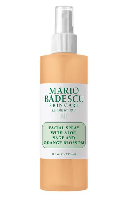 Mario Badescu Facial Spray With Aloe, Sage & Orange Blossom 8 Oz.