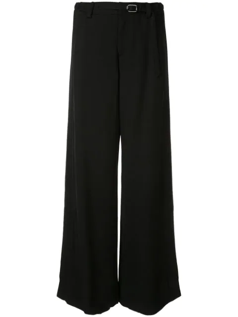Roland Mouret Straight-leg Cropped Liberty Trousers In Black
