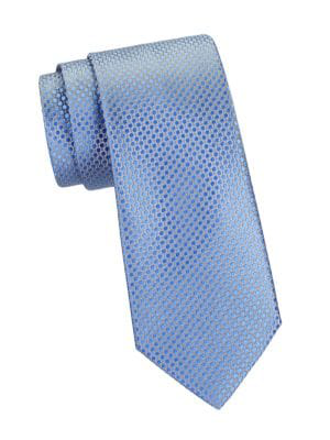 Charvet Men's Arabesque Silk Tie In Light Blue
