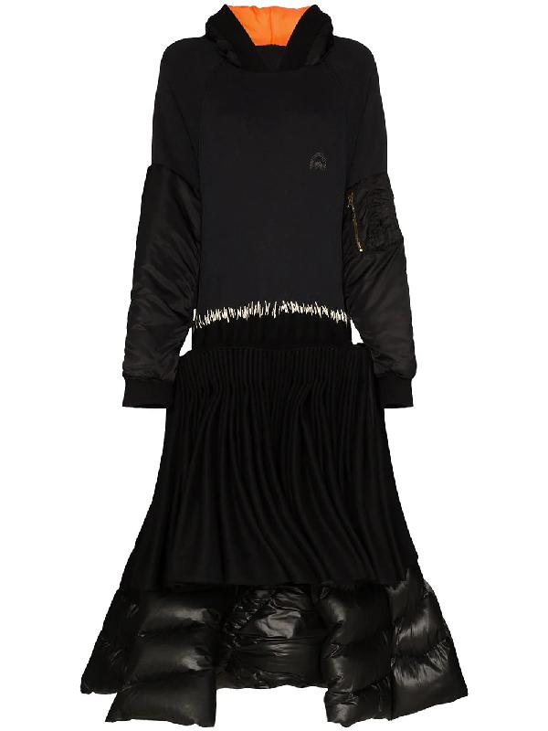 Duran Lantink Kleid Im Reconstructed-look In Black