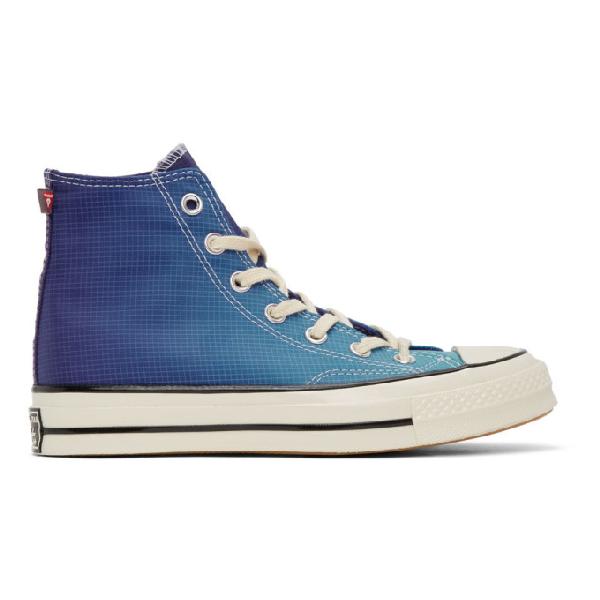 converse blu