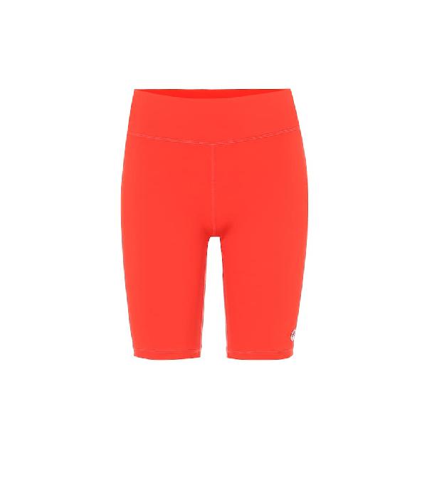 Tory Sport Biker Shorts In Red