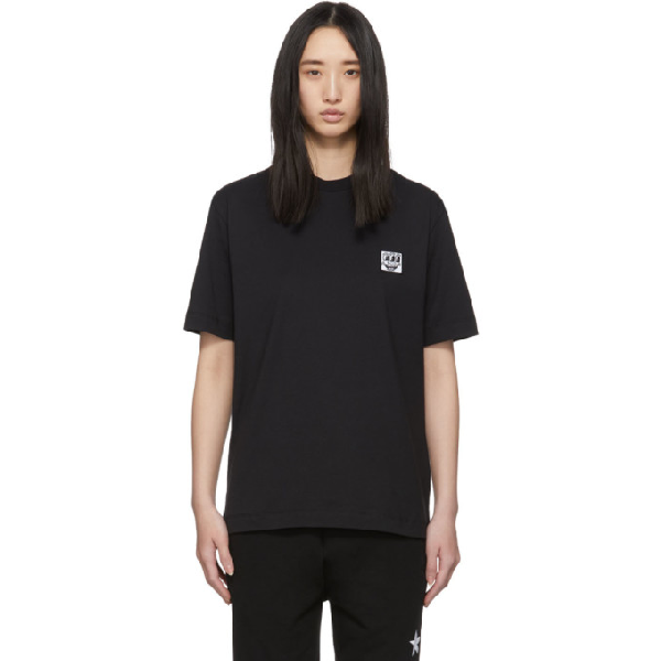 Etudes Studio Etudes Black Keith Haring Edition Wonder Patch T-shirt