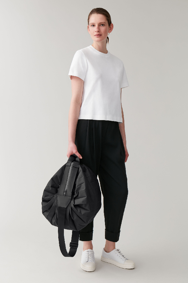 Cos Technical Gym Bag In Black