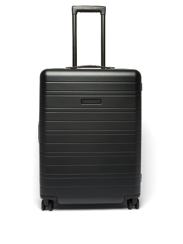 Horizn Studios H6 Smart Medium Check-in Hardshell Suitcase In Black