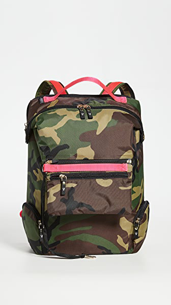 Andi Backpack In Camo/pink