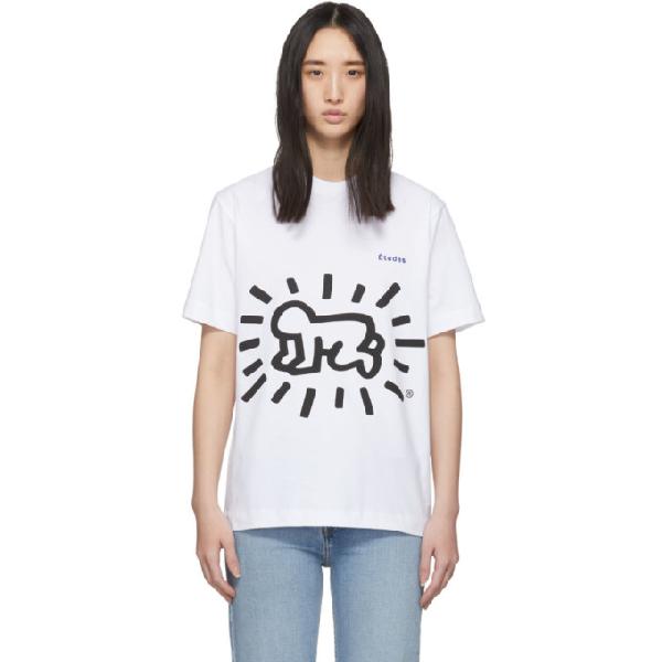 Etudes Studio Etudes White Keith Haring Edition Wonder T-shirt