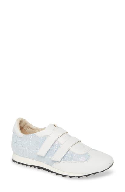 Amalfi By Rangoni Forrest Sneaker In Sky Leather