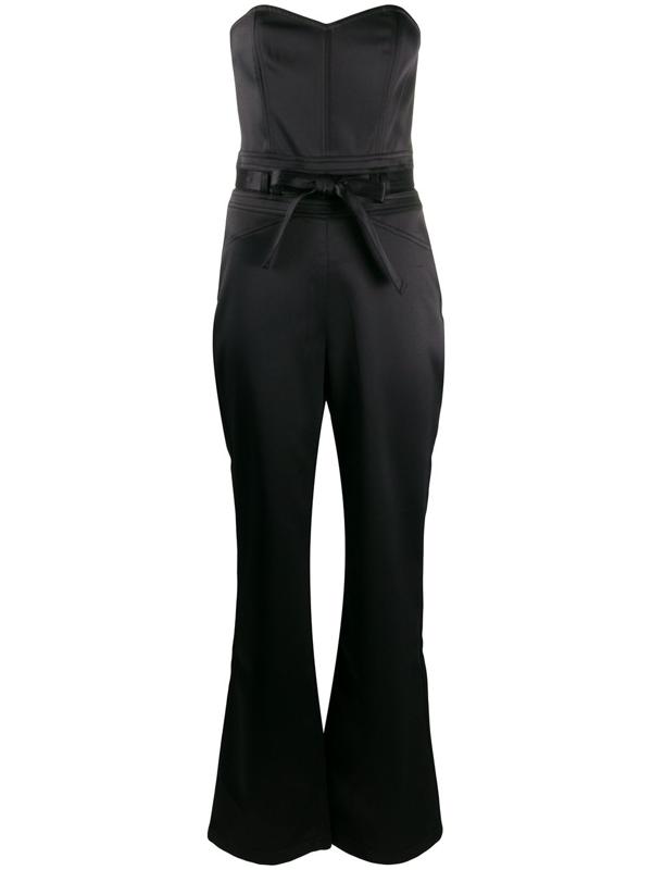 J Brand Jenna Strapless Jumpsuit In Black