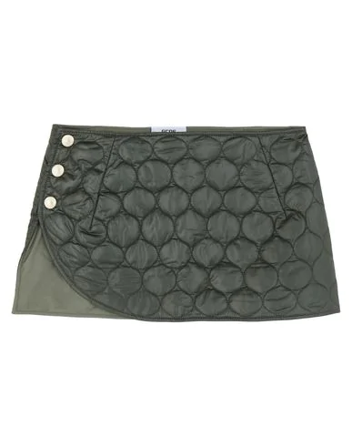 Gcds Mini Skirts In Military Green