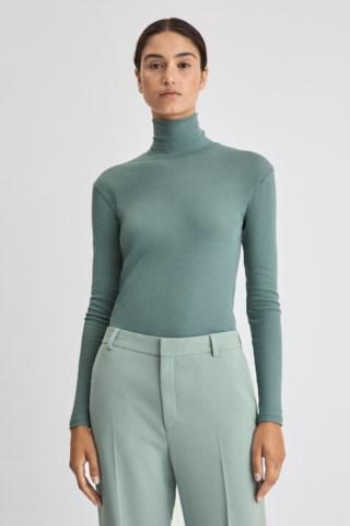Filippa K Alaina Knitted Top In Mint Powder