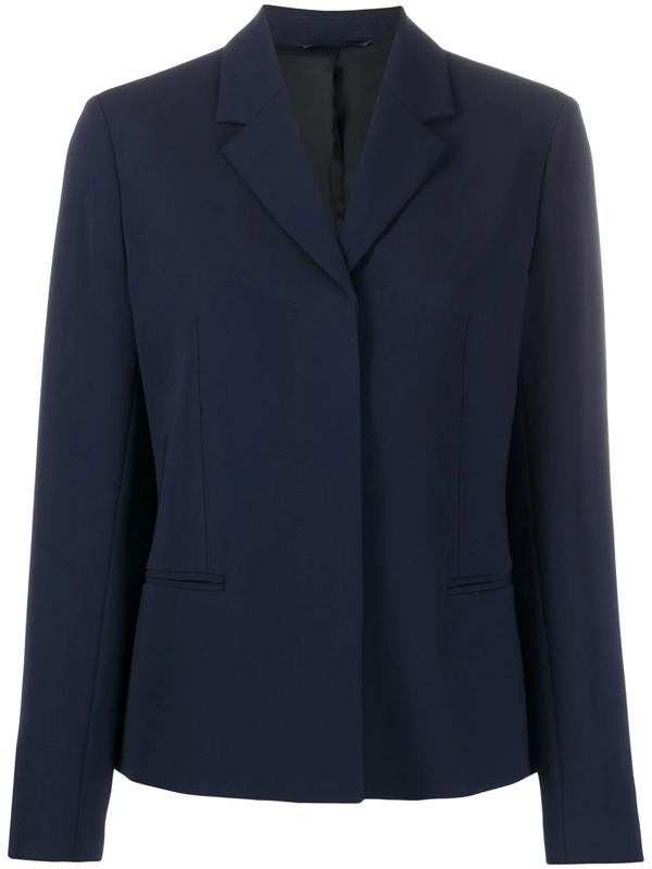 Filippa K Maylene Long Sleeve Blazer In Blue