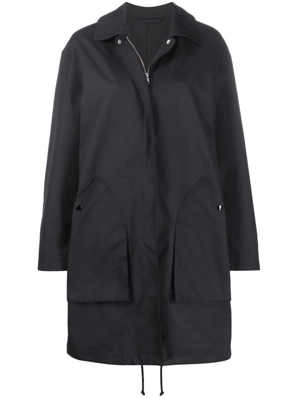 Filippa K Portland Rain Coat In Black