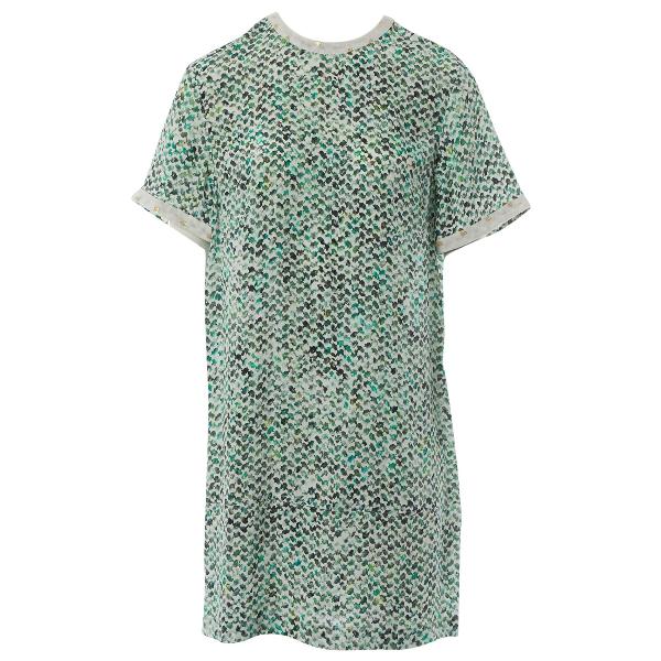 Lala Berlin Green Silk Dress