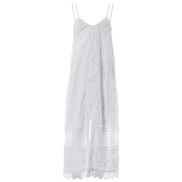 Lala Berlin White Cotton Dress