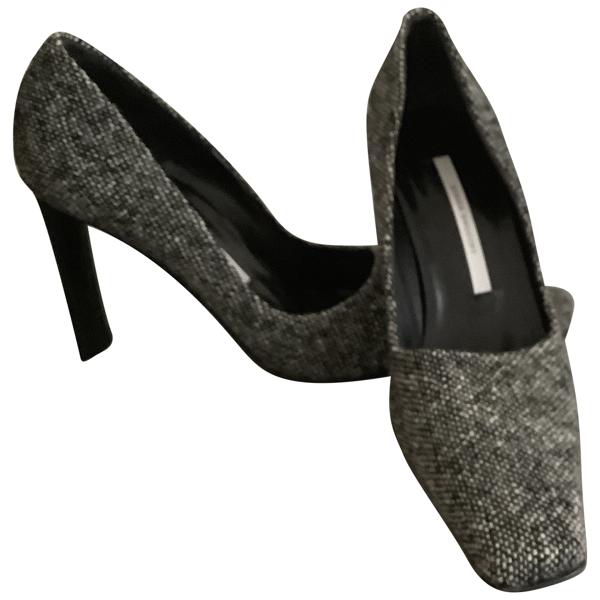 Diego Dolcini Black Tweed Heels