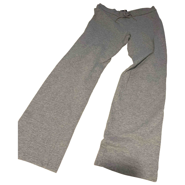 Lotto Grey Cotton Trousers