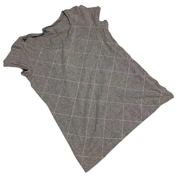 Lotto Grey Cotton  Top