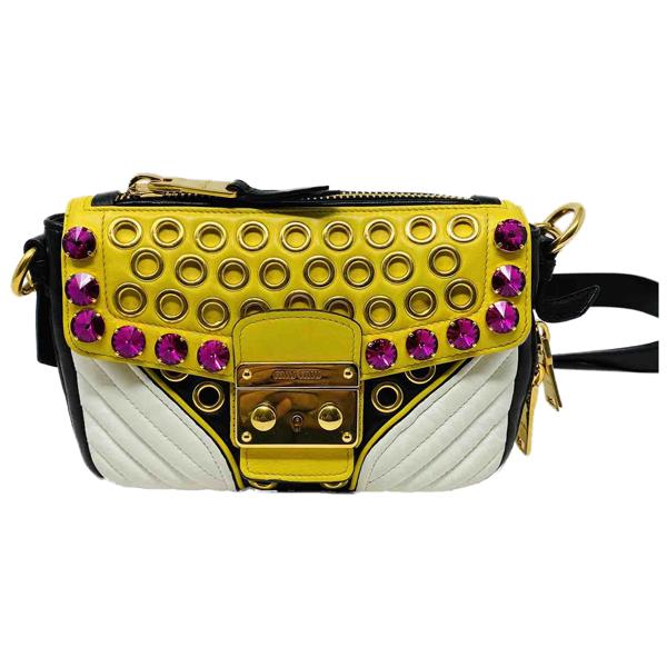 Pre-owned Miu Miu Multicolour Leather Handbag