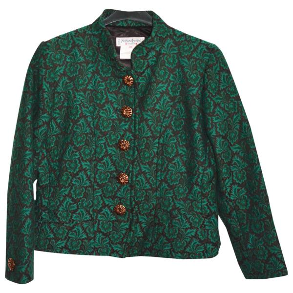 Pre-owned Saint Laurent Multicolour Wool Jacket