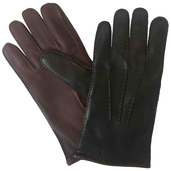 Pre-owned Larusmiani Black Leather Gloves