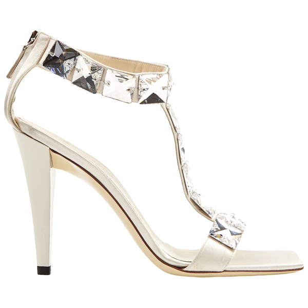 Pre-owned Gucci White Cloth Sandals