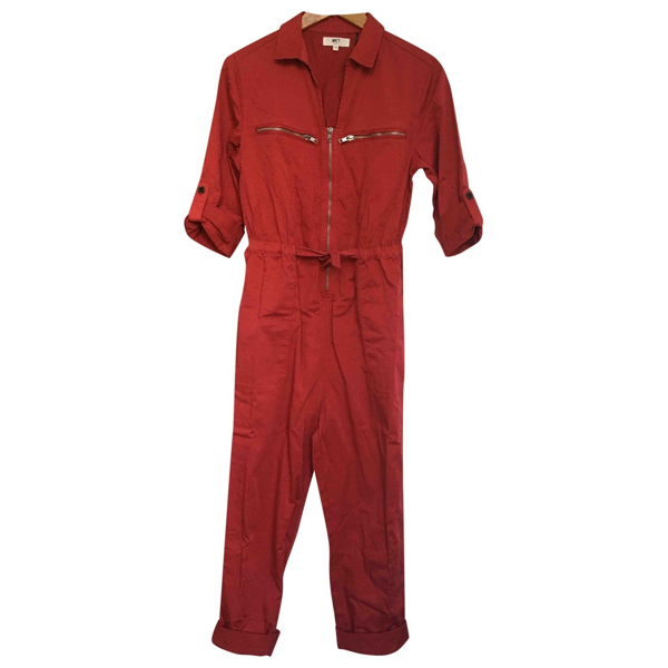 Pre-owned Mkt Studio Red Cotton Jumpsuit