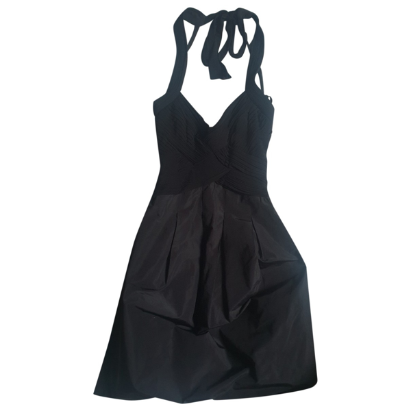 Pre-owned Bcbg Max Azria Black Dress