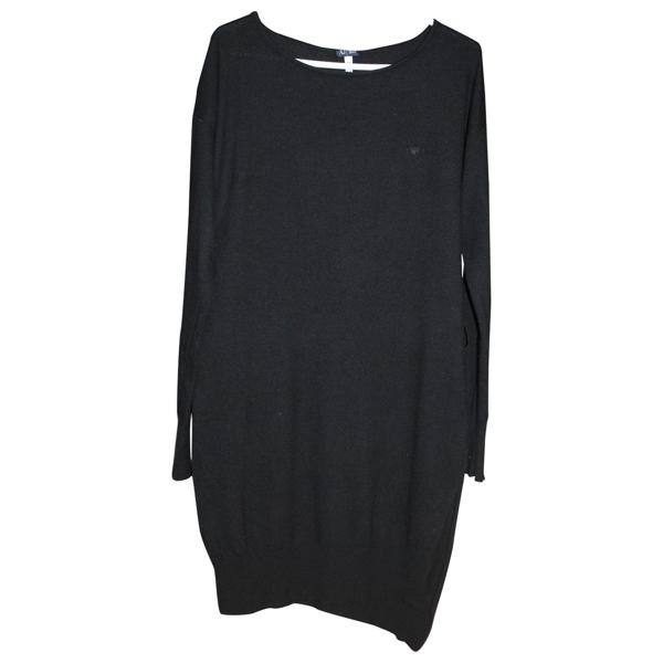 Pre-owned Armani Jeans Black Dress