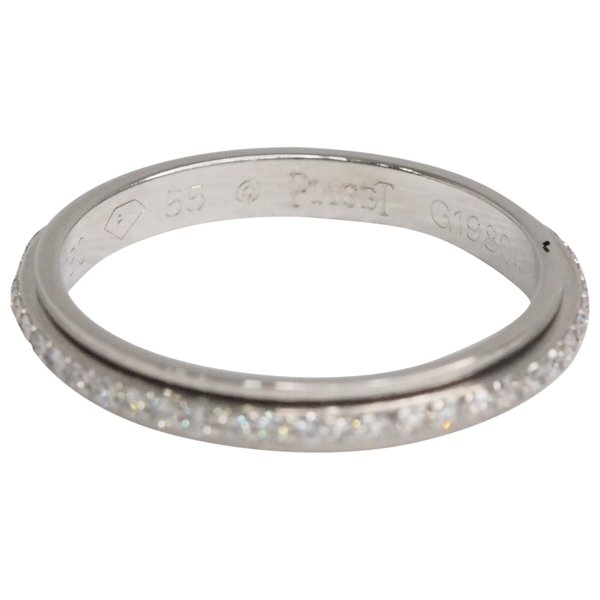 Pre-owned Piaget Possession Silver White Gold Ring