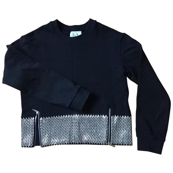 Pre-owned Zoe Karssen Black Cotton Knitwear