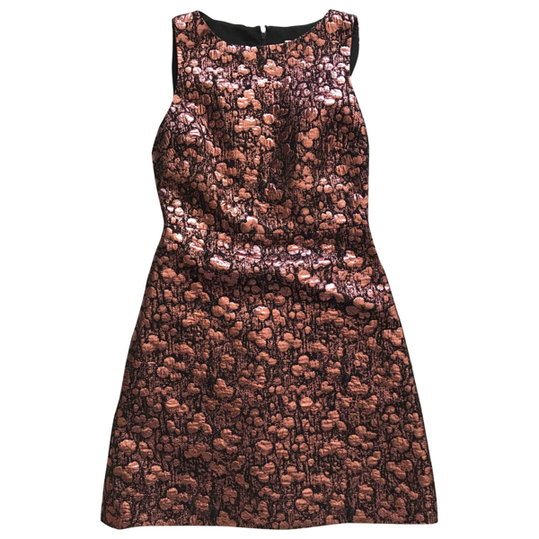 Pre-owned Alice And Olivia Metallic Dress