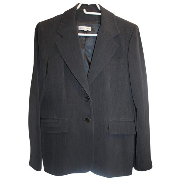 Pre-owned Gerard Darel Grey Wool Jacket