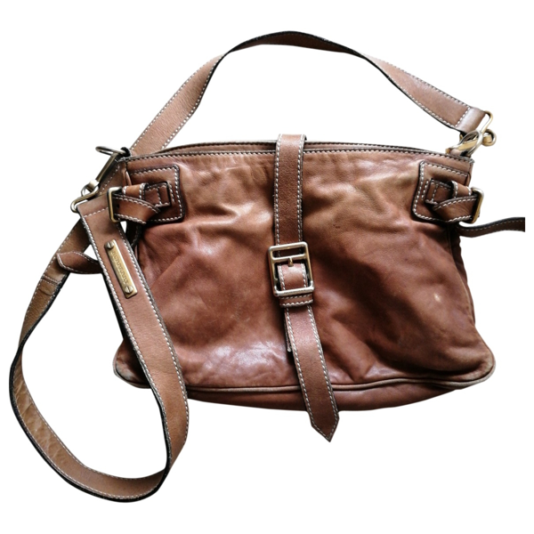 Pre-owned Burberry Brown Leather Handbag