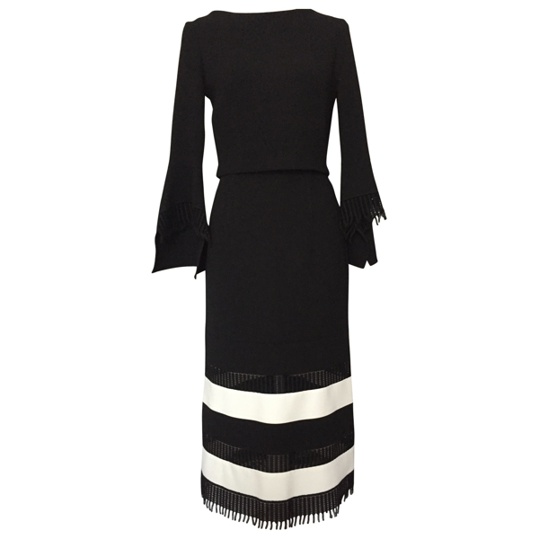 Pre-owned Roland Mouret Black Wool Dress