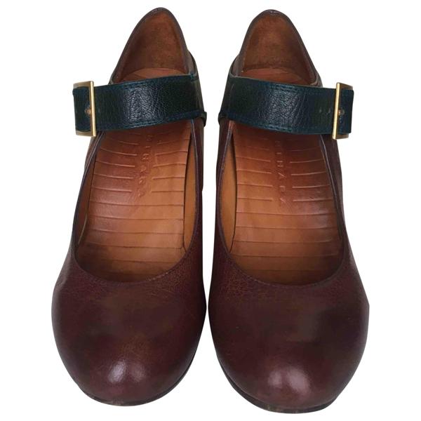 Pre-owned Chie Mihara Brown Leather Heels