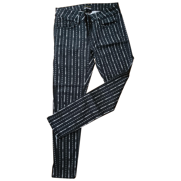 Pre-owned The Kooples Black Cotton - Elasthane Jeans