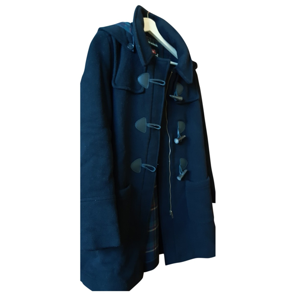 Pre-owned Gloverall Black Wool Coat