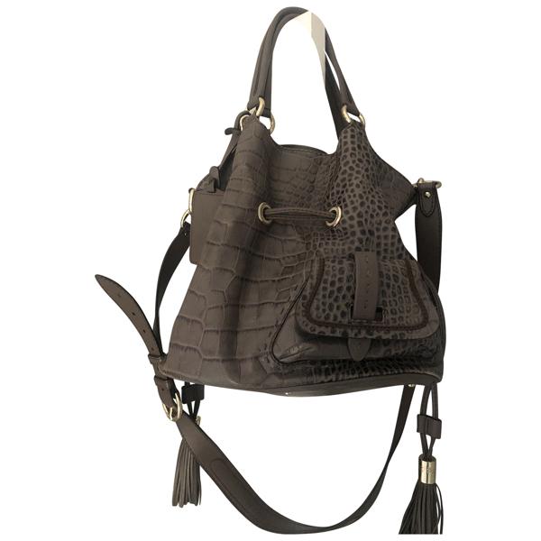 Pre-owned Lancel Brown Leather Handbag