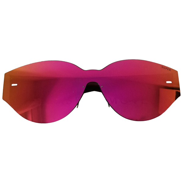 Pre-owned Retrosuperfuture Pink Sunglasses