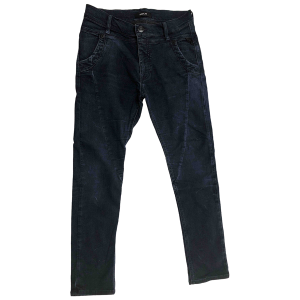 Pre-owned Replay Blue Denim - Jeans Trousers
