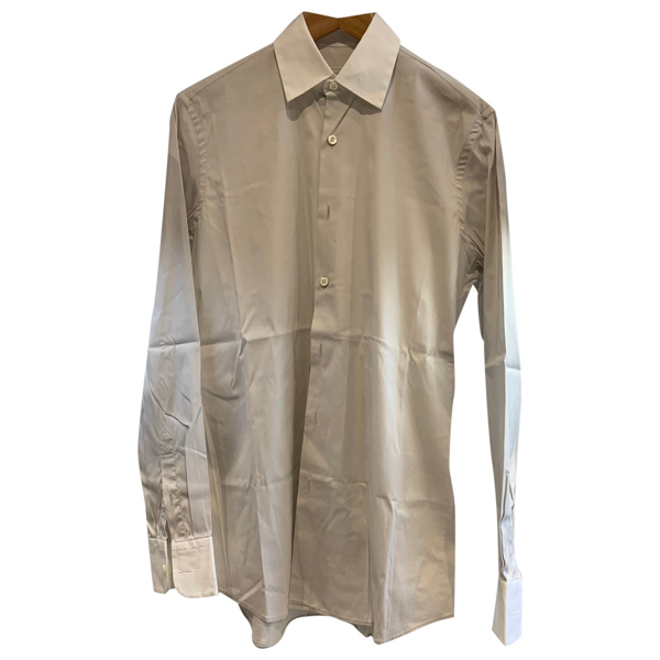 Pre-owned Prada Beige Cotton Shirts