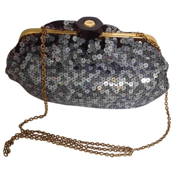 Pre-owned Loewe Blue Glitter Handbag