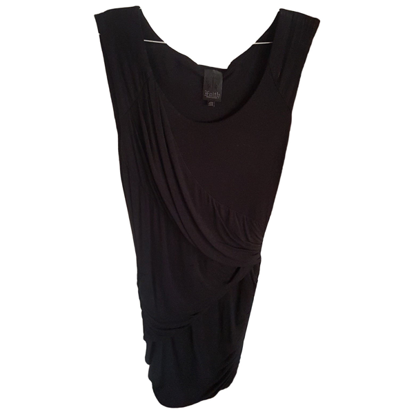 Pre-owned Faith Connexion Black Cotton Dress