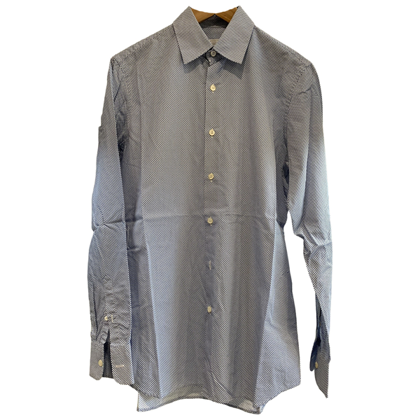 Pre-owned Prada Blue Cotton Shirts