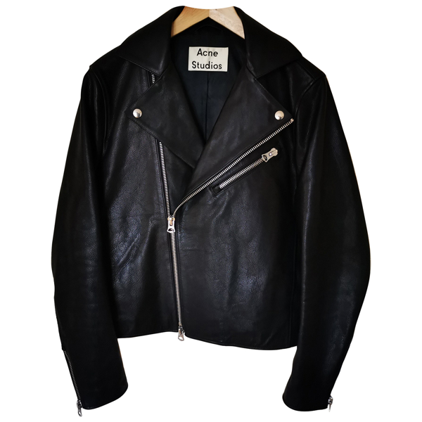 Pre-owned Acne Studios Black Leather Jacket