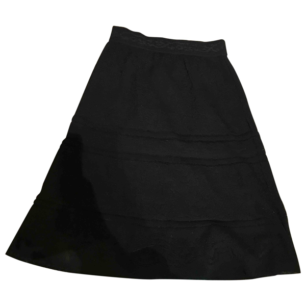 Pre-owned M Missoni Black Cotton Skirt